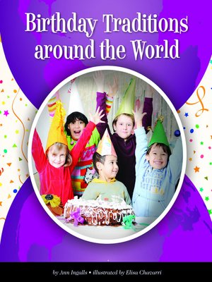 cover image of Birthday Traditions around the World